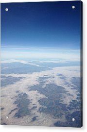 Looking Down On The Earth Acrylic Print by Daniel Precht