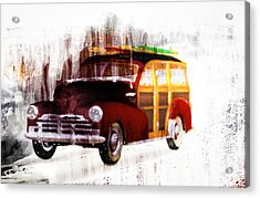 Looking For Surf City Acrylic Print by Bob Orsillo