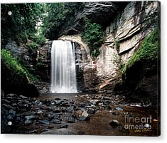 Looking Glass Falls 2007 Acrylic Print