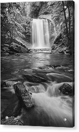 Looking Glass Falls Acrylic Print by Photography  By Sai