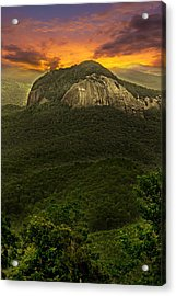 Looking Glass Rock North Carolina  Acrylic Print