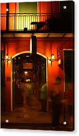 Looking In Pat O'brien's Acrylic Print