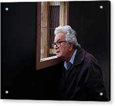 Looking In Acrylic Print by Paul Indigo