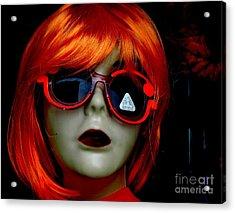 Looking In The Window Acrylic Print