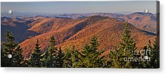 Looking North From Mount Equinox Acrylic Print by Charles Kozierok