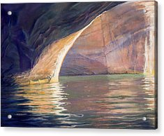 Looking Out Lake Powell Acrylic Print