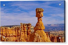Looking Over Sunset Point  Acrylic Print by Jeff Swan