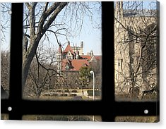 Looking Past The Window  Acrylic Print by Eugene Bergeron