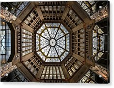 Looking Up Acrylic Print by Renate Reichert