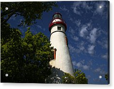 Looking Up To Marblehead Light Acrylic Print