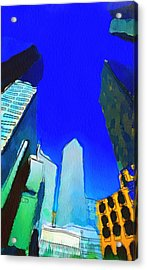 Looking Up Acrylic Print by Yury Malkov