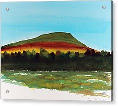 Acrylic Print featuring the painting Lookout Mountain Tn by Frank Bright