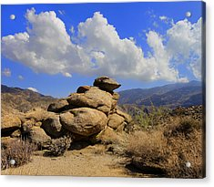 Acrylic Print featuring the photograph Lookout Rock by Michael Pickett