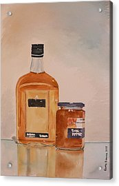 Acrylic Print featuring the painting Looks Can Be Deceiving by Geeta Biswas