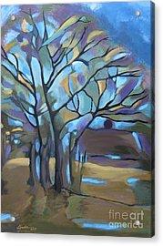 Looks Like Mondrian's Tree Acrylic Print