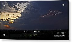 Looks Like Time To Call This Off Acrylic Print by Gary Holmes