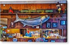 Loose Caboose Restaurant - Boca Grande Acrylic Print