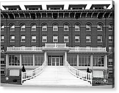 Loras College Keane Hall Acrylic Print by University Icons