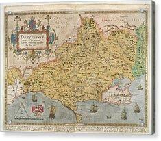 Lord Burghley's Atlas Acrylic Print