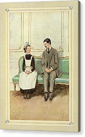 Lord Loam And A Maid Acrylic Print by British Library