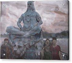 Lord Shiva Acrylic Print