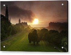 Lord Sun Acrylic Print