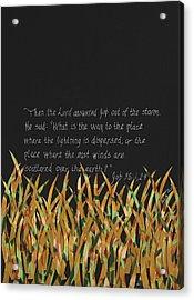 Lordof The Elements - Wind Acrylic Print