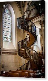 Loretto Chapel Staircase Acrylic Print