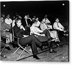 Los Alamos Colloquium, 1946 Acrylic Print by Science Source