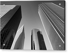 Los Angeles Architecture Acrylic Print by Celso Diniz