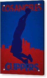 Los Angeles Clippers Blake Griffin Acrylic Print by Joe Hamilton