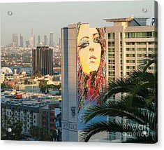 Los Angeles Golden Hour Acrylic Print