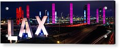 Los Angeles Intl Airport Los Angeles Ca Acrylic Print by Panoramic Images