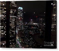 Los Angeles Nightscape Acrylic Print