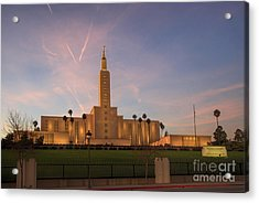 Los Angeles Temple Acrylic Print