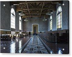 Los Angeles Union Station Original Ticket Lobby Acrylic Print