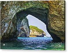 Los Arcos Marine Park Acrylic Print by Elena Elisseeva