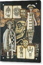 Los Indios Acrylic Print