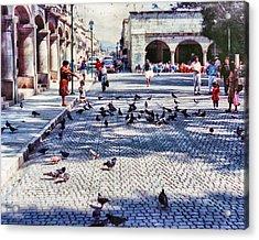 Los Palomitos Acrylic Print