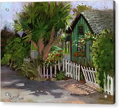 Los Rios Street San Juan Capistrano California Acrylic Print
