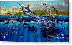 Los Suenos Acrylic Print by Carey Chen