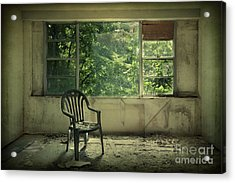 Lose Your Delusions Acrylic Print by Evelina Kremsdorf