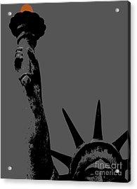 Losing Liberty Acrylic Print by Joe Jake Pratt