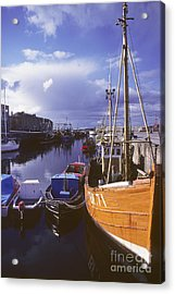 Lossiemouth Harbour - Scotland Acrylic Print by Phil Banks