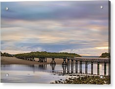 Lossiemouth Walk Bridge Acrylic Print