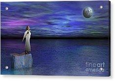 Lost Angel Acrylic Print by Bedros Awak