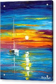 Lost At Sea Acrylic Print by Jessilyn Park
