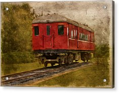 Lost Carriage 01 Acrylic Print by Kevin Chippindall
