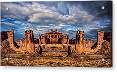 Lost City Of Gold Acrylic Print by Ron Jones