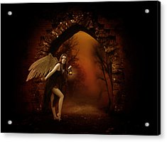 Lost Fairy Acrylic Print by Ester  Rogers